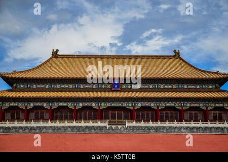 Die Verbotene Stadt in Peking - Stockfoto