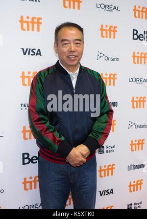 """Toronto, Kanada. 10 Sep, 2017. Regisseur Chen Kaige besucht die Sneak Peek von seinem neuen Film """"Legende der Dämon - Stockfoto"""