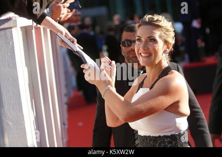 Kate Winslet die Teilnahme an der 'Berg zwischen uns 'Premiere während der 42 Toronto International Film Festival - Stockfoto