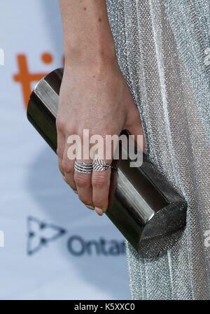 Toronto, Kanada. 10 Sep, 2017. Jessica McNamee in der Ankunftshalle für KAMPF DER GESCHLECHTER Premiere auf dem - Stockfoto