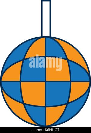 Disco Lampe-Symbol Vektor Abbildung - Bild: 153140764 - Alamy