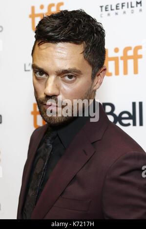 """Toronto, Kanada. 12 Sep, 2017. Dominic Cooper die Teilnahme an der """"Escape""""-Premiere während der 42 Toronto International - Stockfoto"""