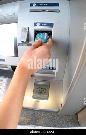 ATM-Maschine - Stockfoto