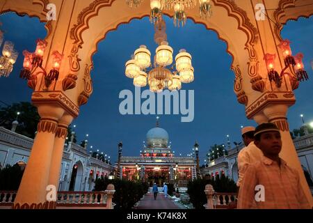 Indien, Telangana, Hyderabad, Dargah Sharif Hazrath Schah Mohammed ...