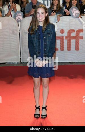 """Toronto, Kanada. 15 Sep, 2017. Ripley Sobo besucht die Premiere von """"Drei Christusse"""" während der 42 Toronto International - Stockfoto"""