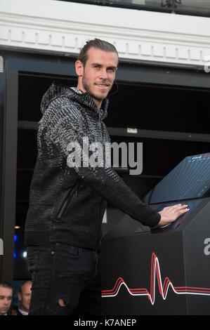 Die fussballer Gareth Bale Bild des neuen Wäscheleine ZNE