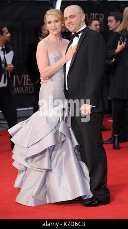 Foto © gutgeschrieben werden Alpha Presse 078237 03/04/2016 Emma Williams Olivier Awards 2016 am Royal Opera House - Stockfoto