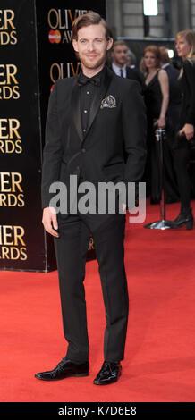Foto © gutgeschrieben werden Alpha Presse 078237 03/04/2016 Lukas Treadaway Olivier Awards 2016 am Royal Opera House - Stockfoto