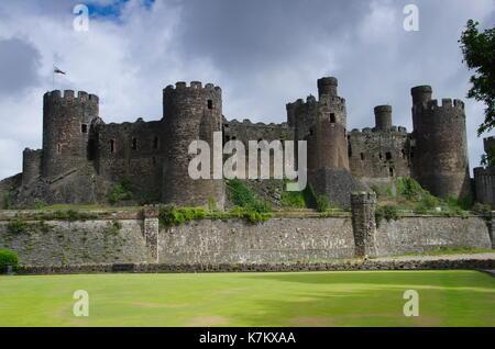 Conwy Castle - Stockfoto