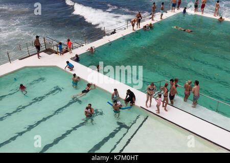 Bondi Icebergs Club, Sydney, New South Wales, Australien - Stockfoto