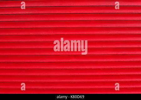 Red geschlossen Shutter - Stockfoto