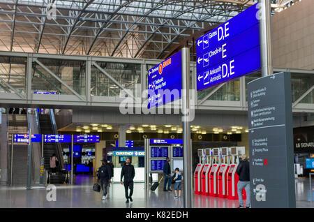Frankfurt Am Main Flughafen Ankunft