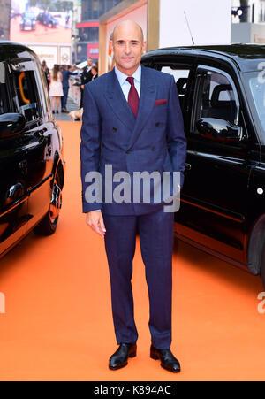 Mark Strong die Teilnahme an der Uraufführung von kingsman: Der goldene Kreis, bei Cineworld in Leicester Square, - Stockfoto