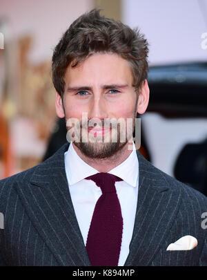 Edward Holcroft Teilnahme an der Weltpremiere von kingsman: Der goldene Kreis, bei Cineworld in Leicester Square, - Stockfoto