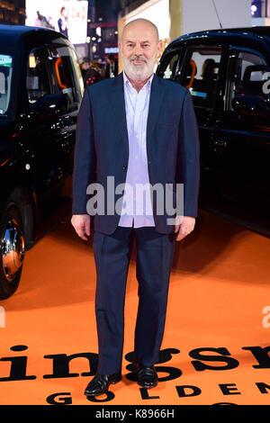Keith Allen die Teilnahme an der Uraufführung von kingsman: Der goldene Kreis, bei Cineworld in Leicester Square, - Stockfoto
