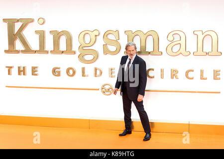 London, Großbritannien. 18 Sep, 2017. Jeff Bridges besucht die KIngsman: Der goldene Kreis Welt Film Premiere Credit: - Stockfoto