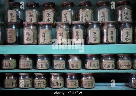 Traditionelle chinesische Medizin Apotheke. ho Chi minh Stadt. vietnam.