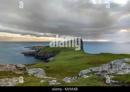 Landschaftlich Punkt, Isle Of Skye, Schottland, Vereinigtes Königreich - Stockfoto