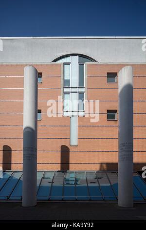 Art und Weise der Menschenrechte (Straße der Menschenrechtsinstitution), außerhalb des Germanischen Nationalmuseums, - Stockfoto