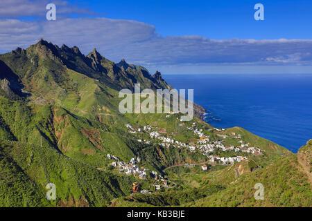Spanien, Kanarische Inseln, Teneriffa, taganana, - Stockfoto