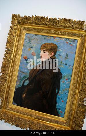 Frankreich, Meurthe et Moselle, Nancy, Stanislas, Museum der schönen Künste, Herbst (Porträt von Méry Laurent) von - Stockfoto