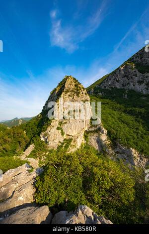 Schlucht von Cetina in der Nähe von Omis, Kroatien - Stockfoto