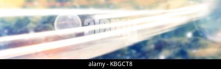 Abstrakten raum Hintergrund mit hellen Linien - Stockfoto