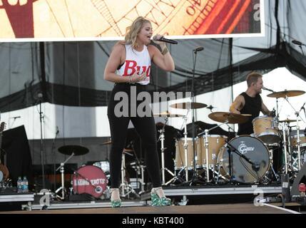 Las Vegas, NV, USA. 30 Sep, 2017. auf der Bühne für Route 91 Ernte Konzert Festival-SAT, Las Vegas, Las Vegas, NV, - Stockfoto