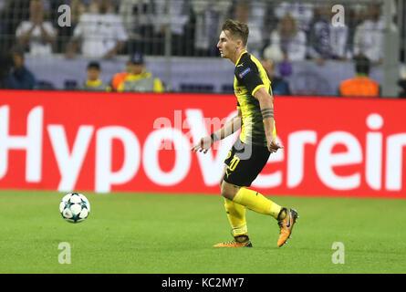 26. September 2017, Signal Iduna Park, Dortmund, Deutschland; UEFA Champions League Borussia Dortmund vs Real Madrid; - Stockfoto