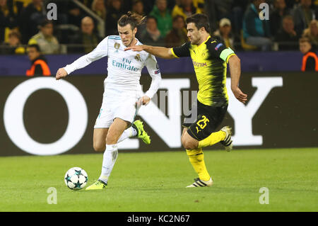 26. September 2017, Signal Iduna Park, Dortmund, Deutschland; UEFA Champions League Borussia Dortmund vs Real Madrid; - Stockfoto