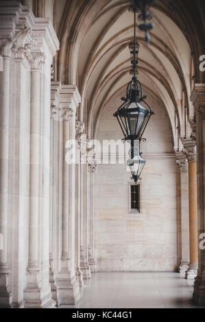Das Rathaus in Wien - Stockfoto
