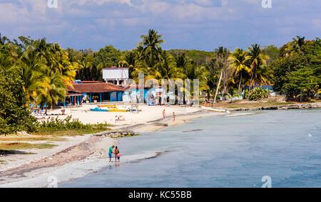 Playa Larga, Bucht von Schweinen, Kuba-krise, Zapata Halbinsel, Provinz Matanzas, Cuba, Karibik - Stockfoto