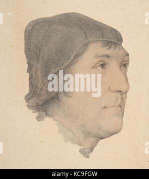 Portrait von John poyntz, zurückzuführen auf Hans Holbein der Jüngere, Anfang des 16. Jahrhunderts - Stockfoto
