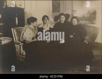 Paule Gobillard Gobillard, Jeannie, Julie Manet, und Geneviève Mallarmé, Edgar Degas, 1895 - Stockfoto