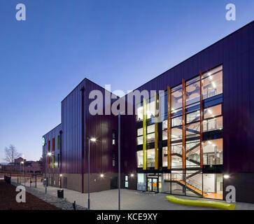 Aussen das gmse utc (Greater Manchester nachhaltige technische Universität technische Hochschule) Oldham, Großbritannien. - Stockfoto
