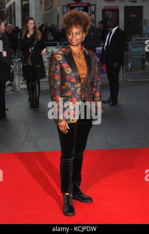 London, Großbritannien. 5. Okt 2017. Dees Rees, Mudbound - BFI LFF Gala Europäische Premiere, Leicester Square, - Stockfoto