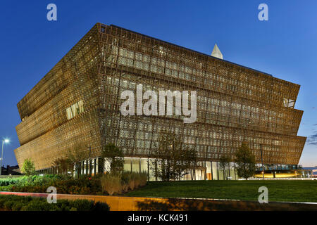 Smithsonian nationalen Museum für Afrikanische Amerikanische Geschichte und Kultur, Washington, District of Columbia - Stockfoto