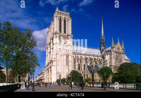 Kathedrale Notre Dame, Paris, Frankreich - Stockfoto