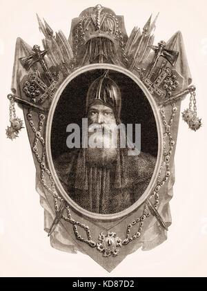 Igor Ich, ein Varangian Herrscher der Kiewer Rus' von 912 bis 945 - Stockfoto