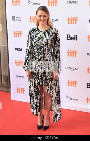 "42 Toronto International Film Festival - ""Wer wir sind""-Premiere mit: Jess weixier Wo: Toronto, Kanada, wenn: 09 - Stockfoto"