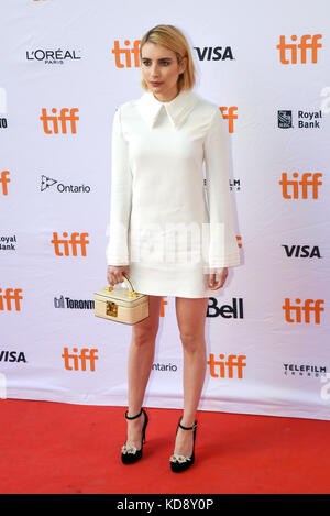 "42 Toronto International Film Festival - ""Wer wir sind""-Premiere mit: Emma Roberts wo: Toronto, Kanada, wenn: 09 - Stockfoto"
