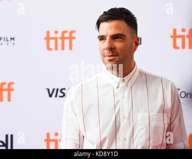"42 Toronto International Film Festival - ""Wer wir sind""-Premiere mit: Zachary Quinto wo: Toronto, Kanada, wenn: - Stockfoto"