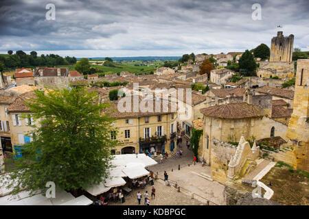 Frankreich, Gironde, Bordeaux, als Weltkulturerbe der ...