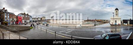 Margate Seafront, Kent, Großbritannien - Stockfoto