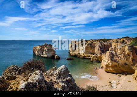 Praia de Sao Rafael, Algarve, Portugal - Stockfoto