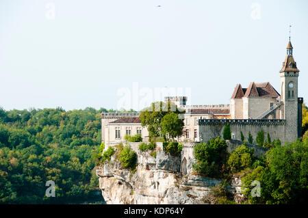 Rocamadour Schloss - Frankreich - Stockfoto