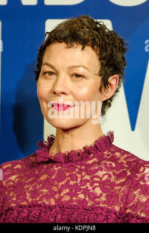 London, Großbritannien. 14. Oktober, 2017. Helen mccrory am Festival Awards Dinner für die London Film Festival - Stockfoto