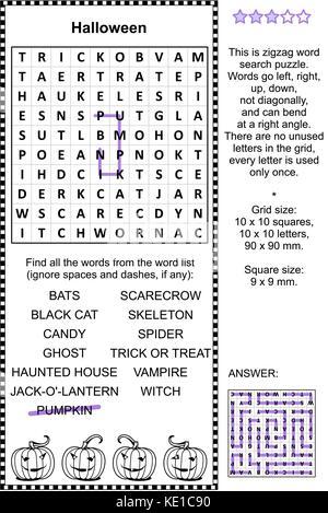 Erfreut Halloween Wörter Für Kinder Bilder - Ideen färben - blsbooks.com