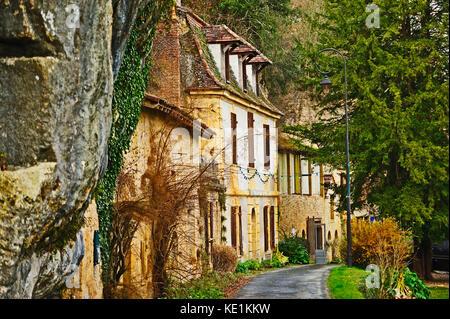 Couze et St. Vorne, Dordogne, Aquitaine, Frankreich - Stockfoto