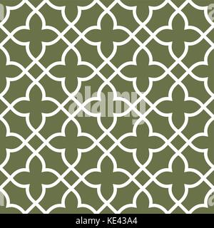 Dachte nahtlose Gitter Muster - Arabesken ornament - Stockfoto